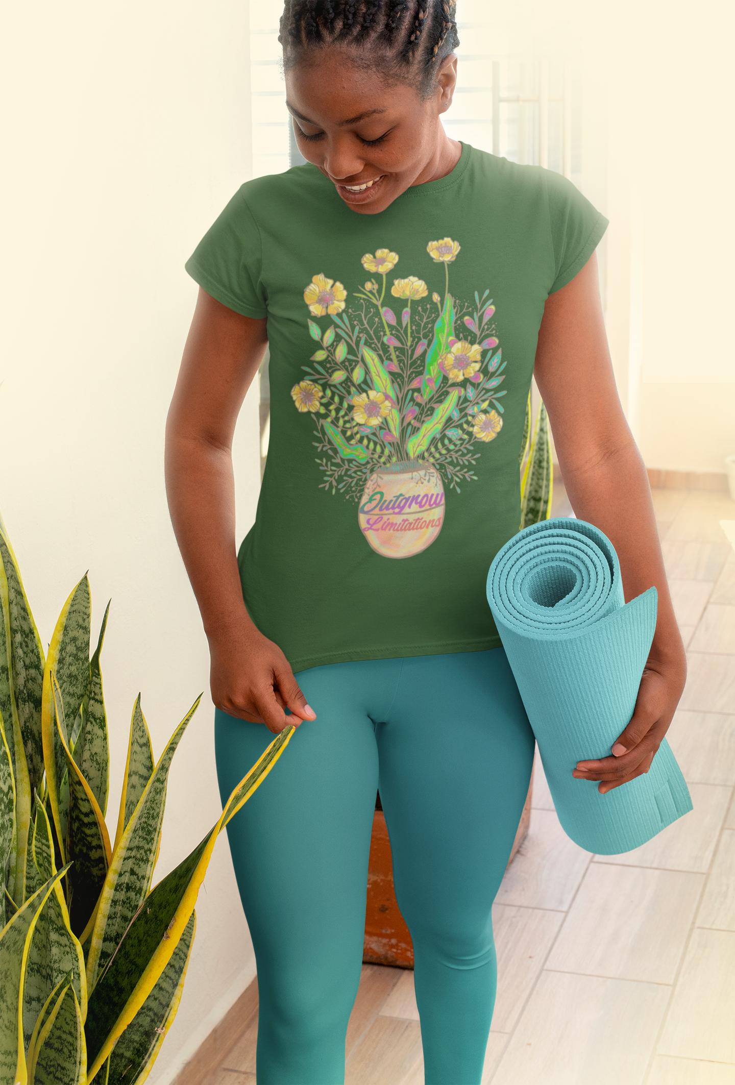 Outgrow Limitations T-shirt