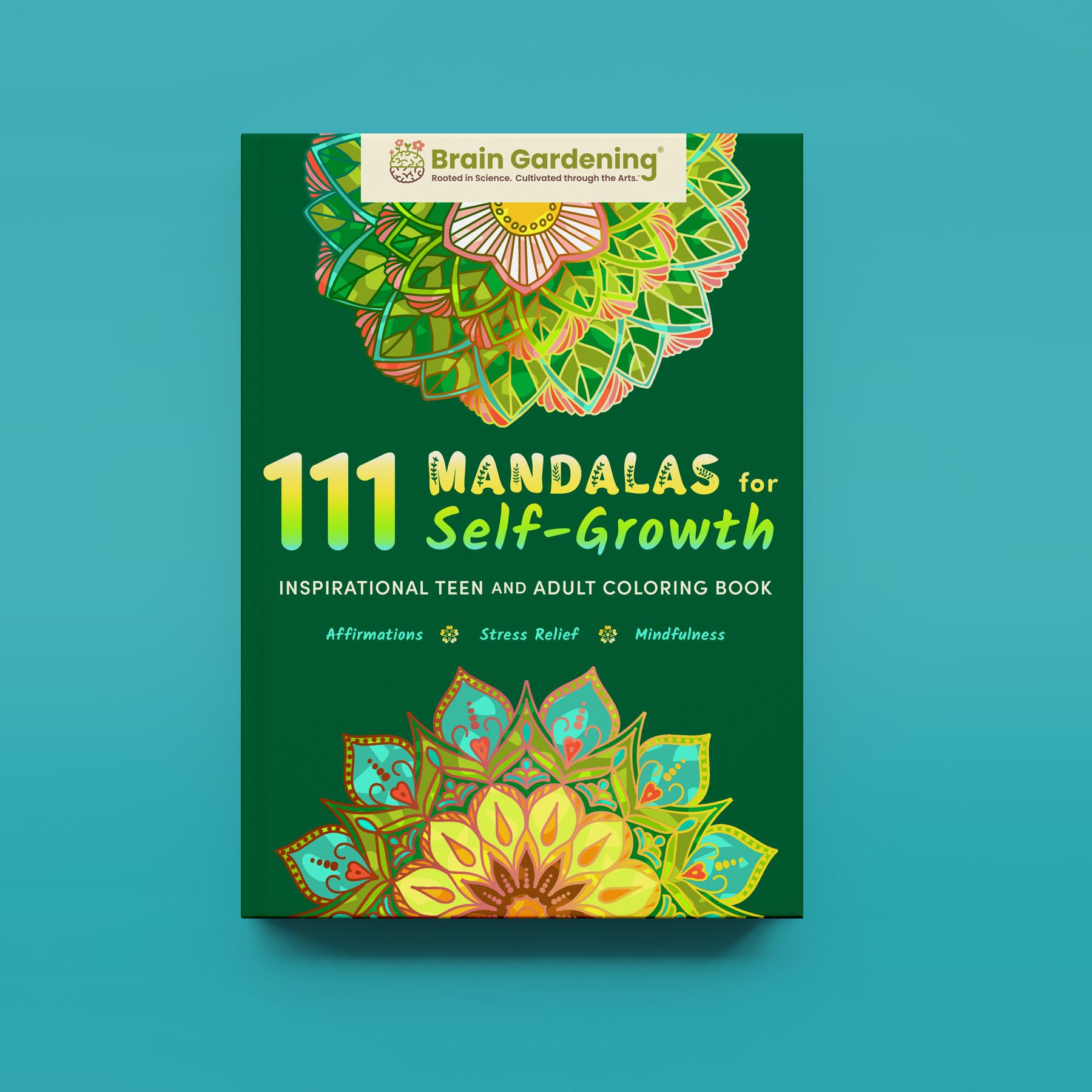 111 Mandalas for Self-Growth Coloring Book